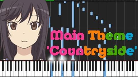 Main Theme 'Countryside' - Non Non Biyori Piano Tutorial (Synthesia) Animenz