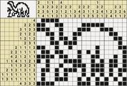 Black-and-White Nonograms, 15-20, Diplodocus