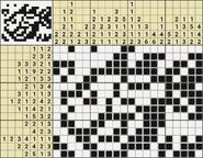 Black-and-White Nonograms, 15-20, Goldfish