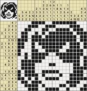 Black-and-White Nonograms, 20x20, Masquerade