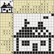 Black-and-White Nonograms, 15x15, Home