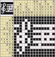 Black-and-White Nonograms, 15x15, More music