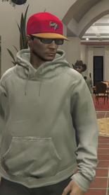Chawa white hoodie
