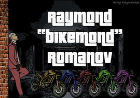 Raymond and his bikes