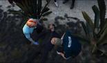 Lang stabbed by Eugene
