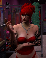Mary Mushkin 3.0 VU RedBustier