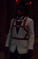 Yeager Demonblood White Suit 2