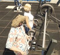 Jean-Pierre & Olivia lifting