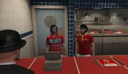 Feb 7th 2021 1 Robert and Sasquatch guy at the burger bar