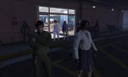 Cock Lee and Sasuke