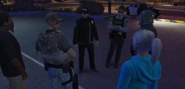 Talking with Police after Citizen's arrest