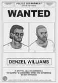 Wanted Poster Denzel