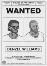 Wanted Poster Denzel