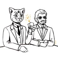 Meow and Roland