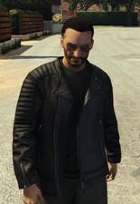 Tony leather jackdet