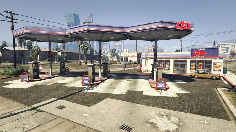 Grove Street Gas Station