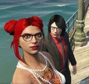 Selfie with Molly Minaj