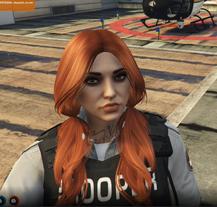 Olivia Copper pigtails
