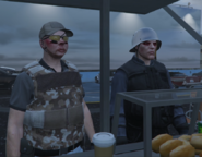 Lenny and Kenny ordering food