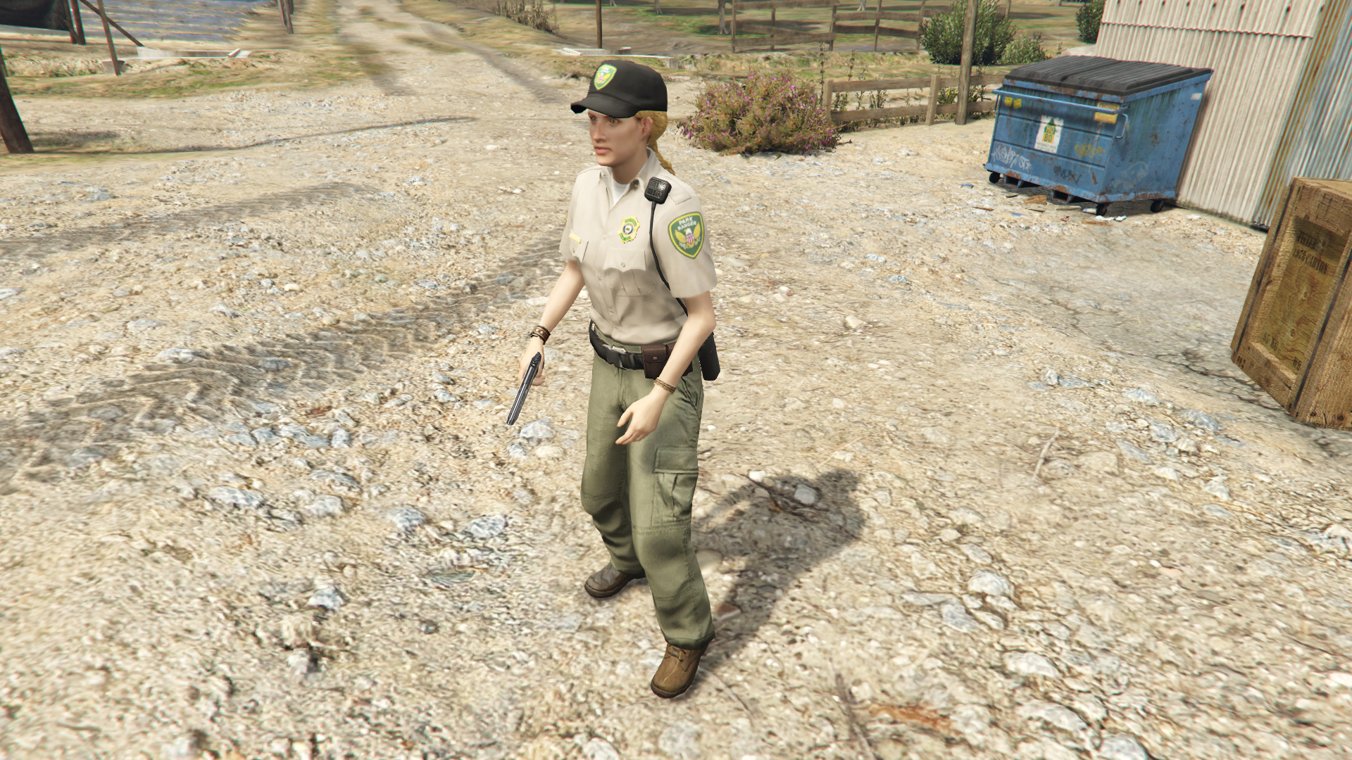 Jessica the Park Ranger