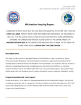 Michaelson Inquiry Report 01