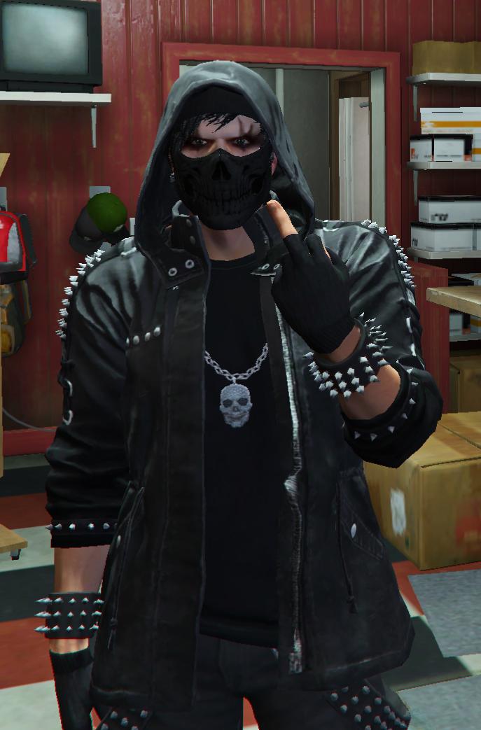"Dustin ""Dark Shadow"" Manson"