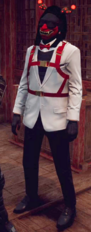 Yeager Demonblood White Suit