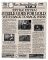 Steele Goes for Gold