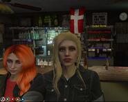 Mari and Jess at the Tavern
