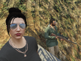 Vale and Pinzon hunting