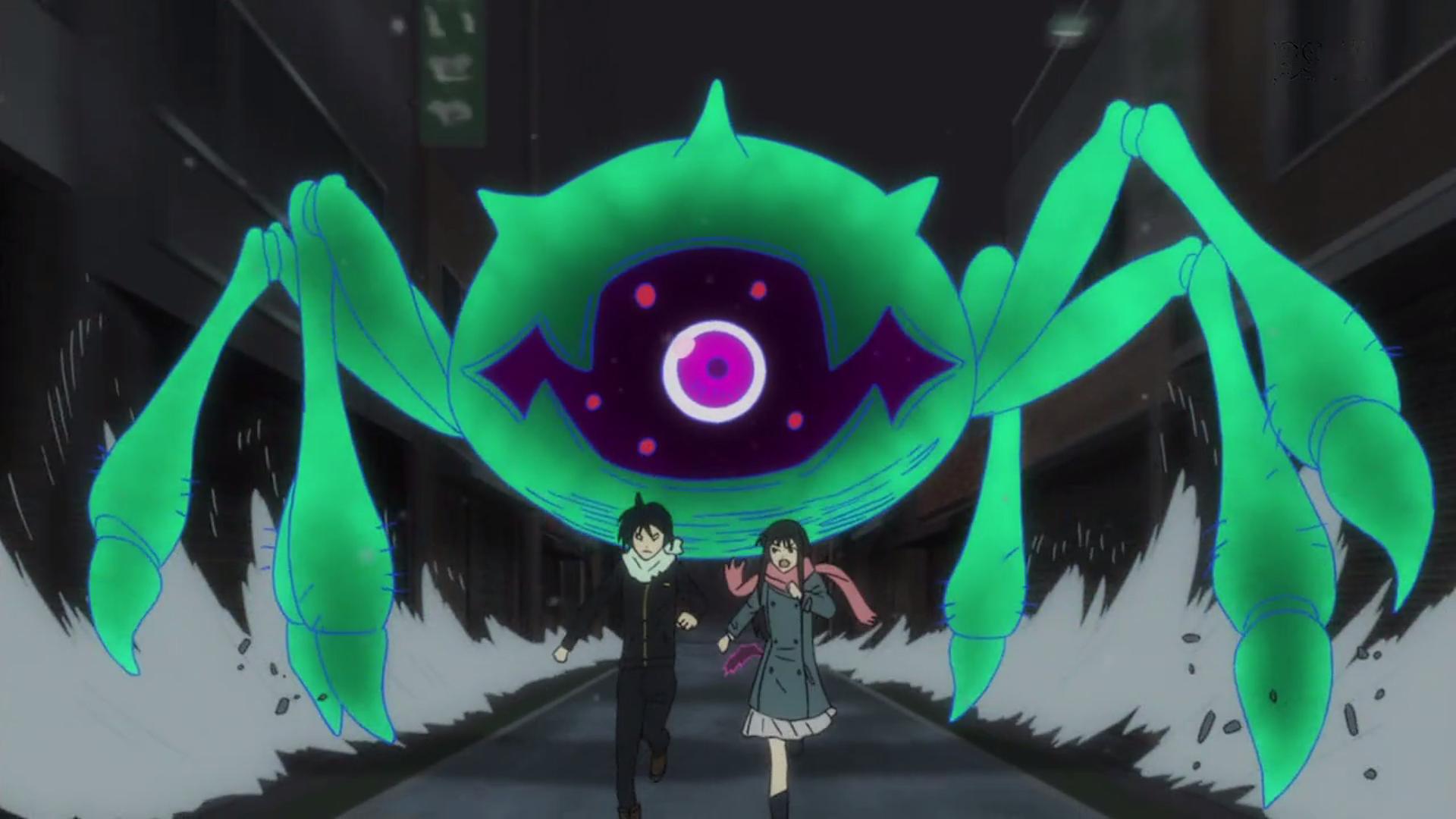 Yato and Hiyori being chased.png