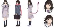 Hiyori Iki Anime Character Design