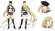 Bishamon Anime Character Design