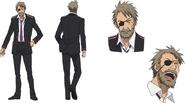 Kuraha Anime Character Design