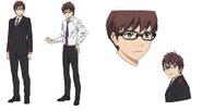 Kazuma Anime Character Design