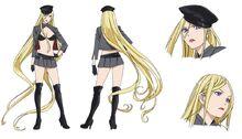 Дизайн Бишамон в аниме.