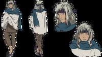 Kugaha's anime design.