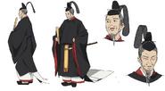 Tenjin Anime Character Design