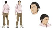 Daikoku Anime Character Design