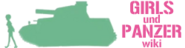 Wiki-wordmarkGirls und Panzer Wiki logo