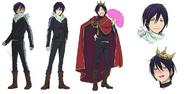 Yato Anime Character Design
