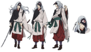 Rabo Anime Character Design