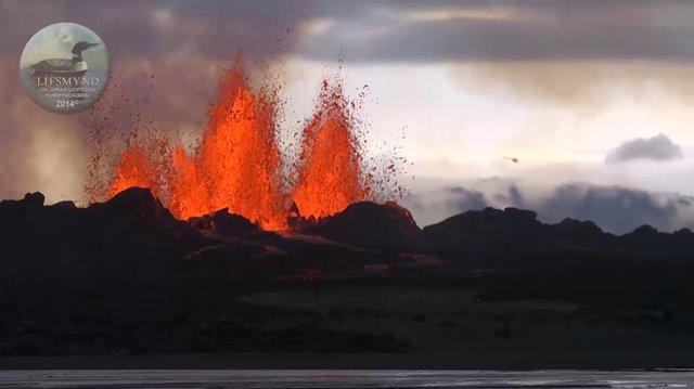 Holuhraun 2014 - Eldgos í Vatnajökulsþjóðgarði Eruption in Vatnajökull National Park