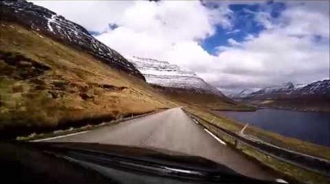 Klaksvík-Viðareiði (Islas Feroe)
