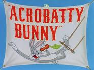 AcrobatBunny