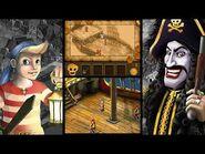 Kaptein Sabeltann og Ildprøvene (2011) - Nintendo DS