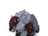 Kaija, der Panzerbär
