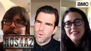 NOS4A2 Comic-Con at Home Panel 2020 w Zachary Quinto, Jami O'Brien & Joe Hill