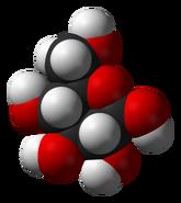 Beta-D-glucose-3D-vdW