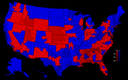 United States presidential election results by congressional district, 2012 (Ferguson Scenario)